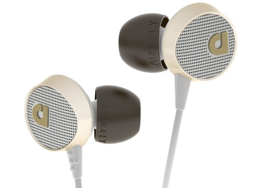 Audiofly AF56 in-ear headphones - White  SAVE $100 (ex display)