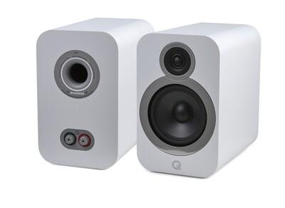 Q Acoustics 3030i Bookshelf / Stand Mount Speakers (ex demo)