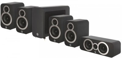 Q Acoustics 3010i - 5.1 Cinema Pack