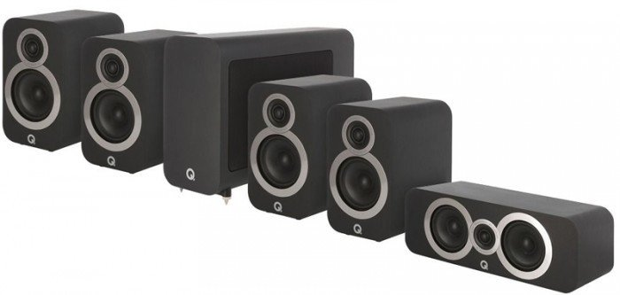 Q Acoustics 3010i - 5.1 Cinema Pack PLUS