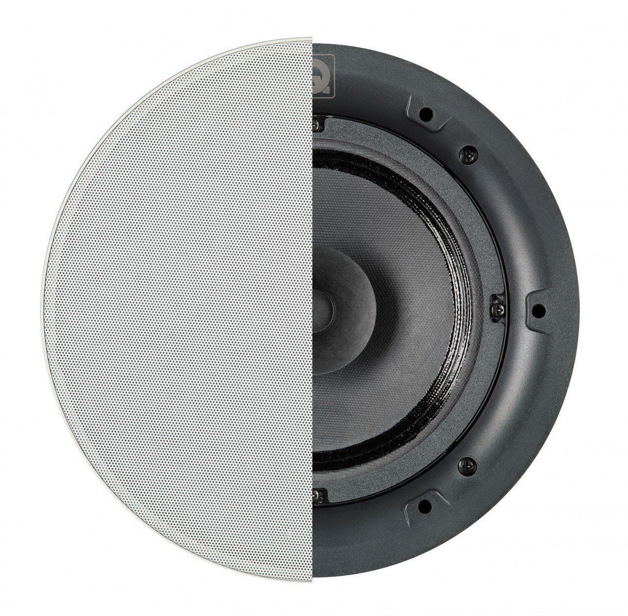 Q Acoustics Qi65CB In-Ceiling Background Speaker Round Grille