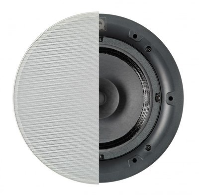 Q Acoustics Qi65CB In-Ceiling Background Speaker Round Grille