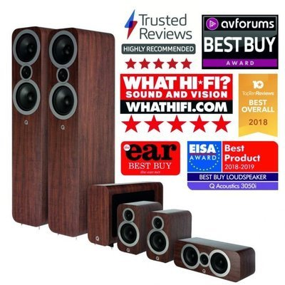 Q Acoustics 3050i - 5.1 Cinema Pack