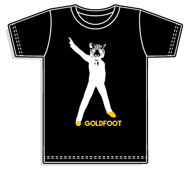 Goldfoot T-Shirt - (Black)