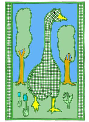 Gingham Goose