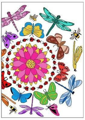 Pollinator Mandala