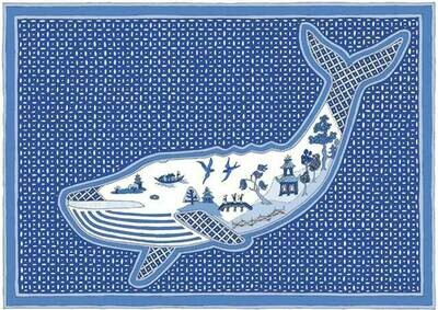 Willow Pattern Whale