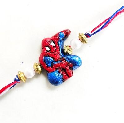 Tulasi Seed Rakhi - Spiderman