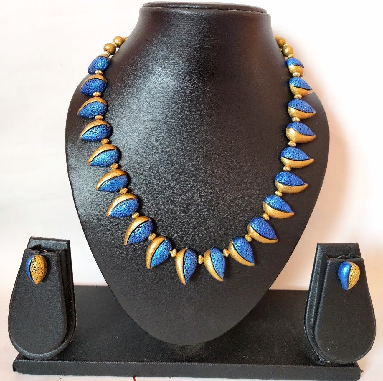 Terracotta Jewellery Necklace Set - NH102