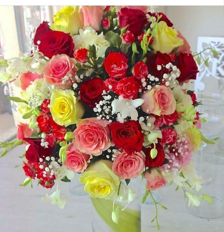 Multi-Colour Flowers