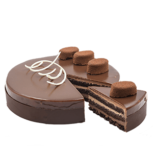 chocolate noisette cake