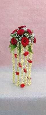Tall Vase Table Arrangement