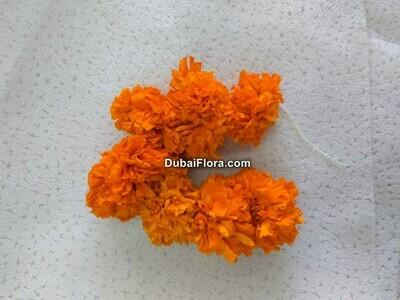 Orange Marigold Strings (Genda)
