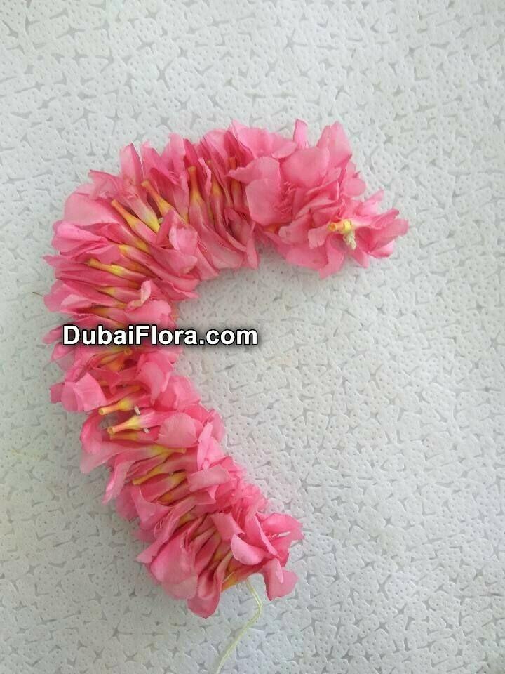 Pink Oleander Flower Strings (Arali)