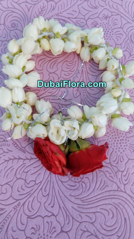 Jasmine Bracelet Kangan with Roses (2 Pieces)