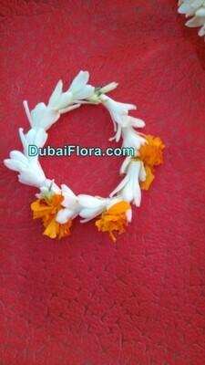 Tuberose Flower Bracelet Kangan (2 Pieces)
