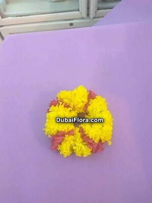 Marigold Bracelet Kangan with Arali (2 Pieces)