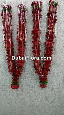 Pair of Red Roses Garland