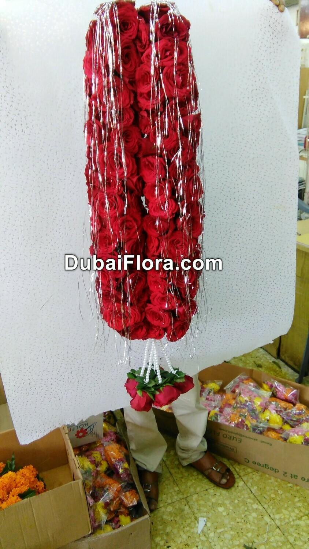 Red Roses Garland