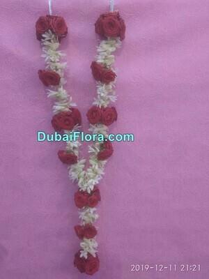 Tuberose and Roses Garland
