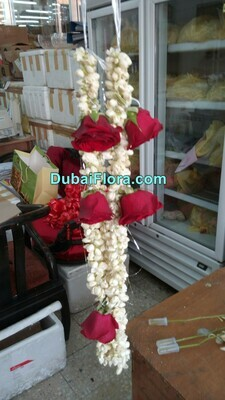 Jasmine and Roses Garland (Haar)