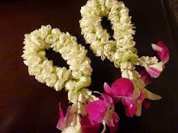Jasmine and Orchids Kangan Bracelet (2 Pieces)