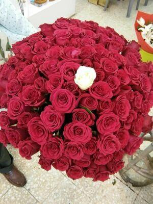 101 Roses Bouquet
