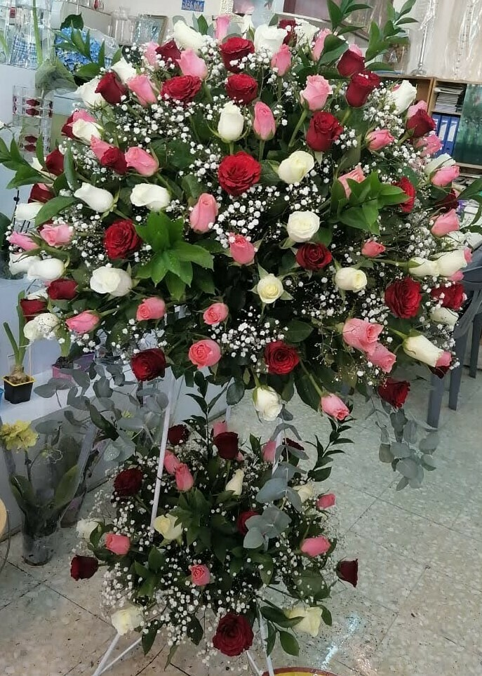 Large Arrangement of Roses