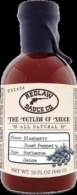 Blueberry Ghost Pepper BBQ Sauce (16 FL OZ)