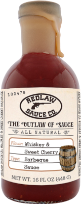 Whiskey & Sweet Cherry BBQ Sauce (16 FL OZ)