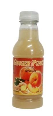16oz Chef K, Ginger Peach Punch