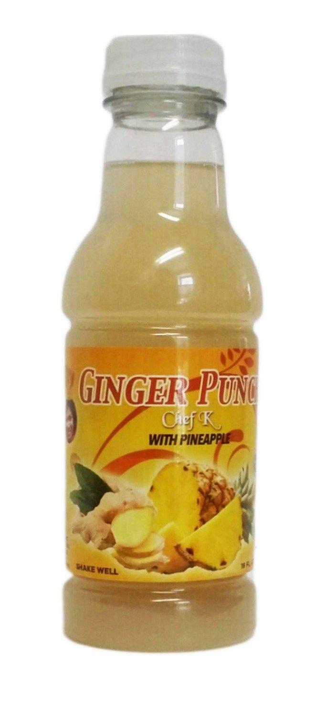 16oz Chef K, Ginger Pineapple Punch