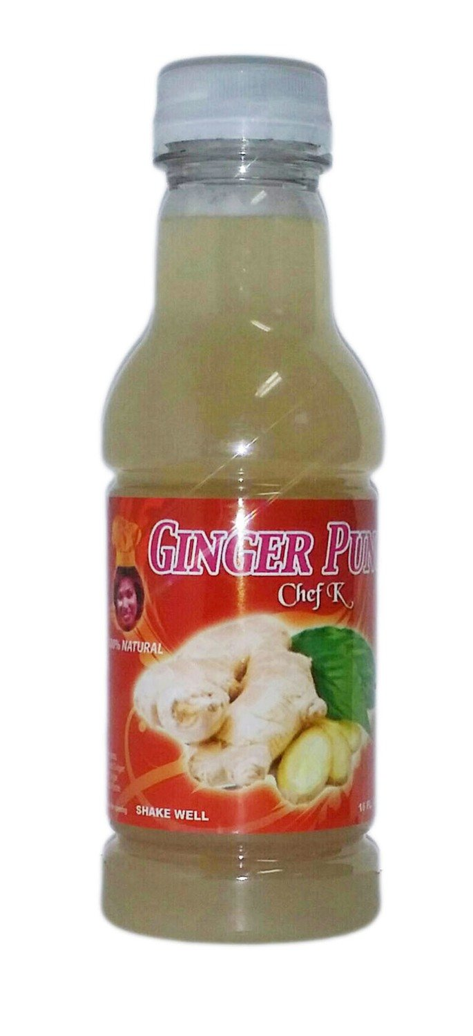 16 oz Chef K Ginger Punch