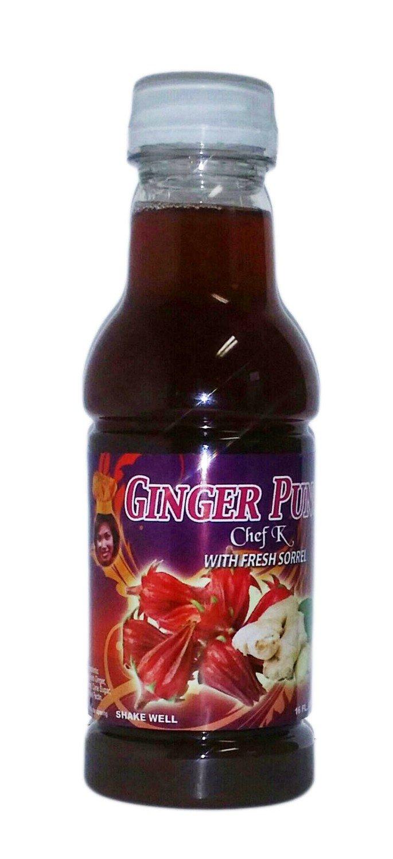 16 oz Chef K Ginger Sorrel (Hibiscus) Punch