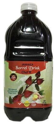 1 cs 64 oz Sorrel (hibiscus) Drinks (9 pcs.)