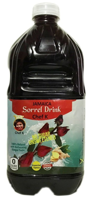 64oz Chef K,Sorrel Drink unsweetened