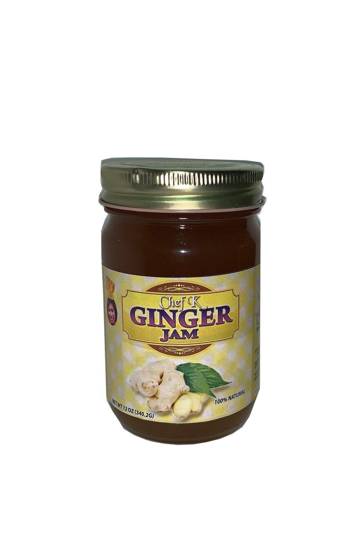 12 oz Chef K Ginger Jam