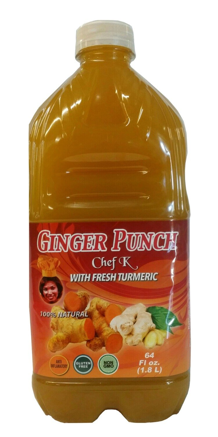 64oz Ginger Turmeric Drink