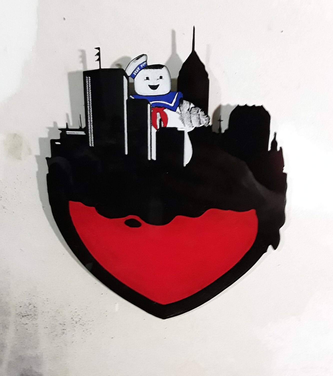 Stay-Puft Indy Heart