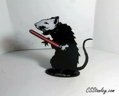 Sith Rat Painted Acrylic