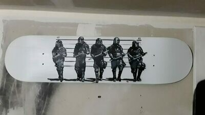 The Usual Suspects Skate Deck