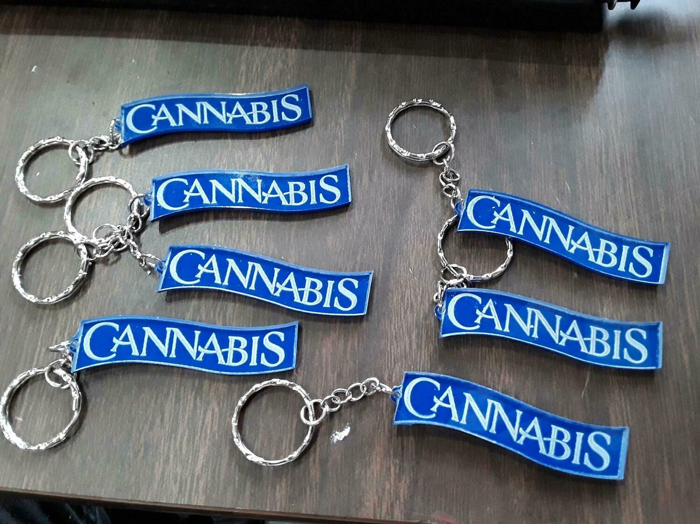 Cannabis Key Chain