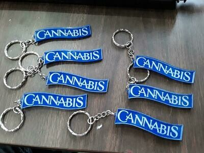 Cannabis Key Chain