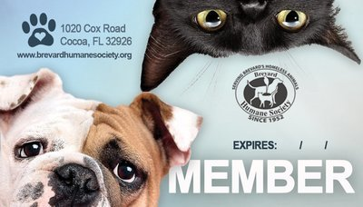 Brevard Humane Society Membership