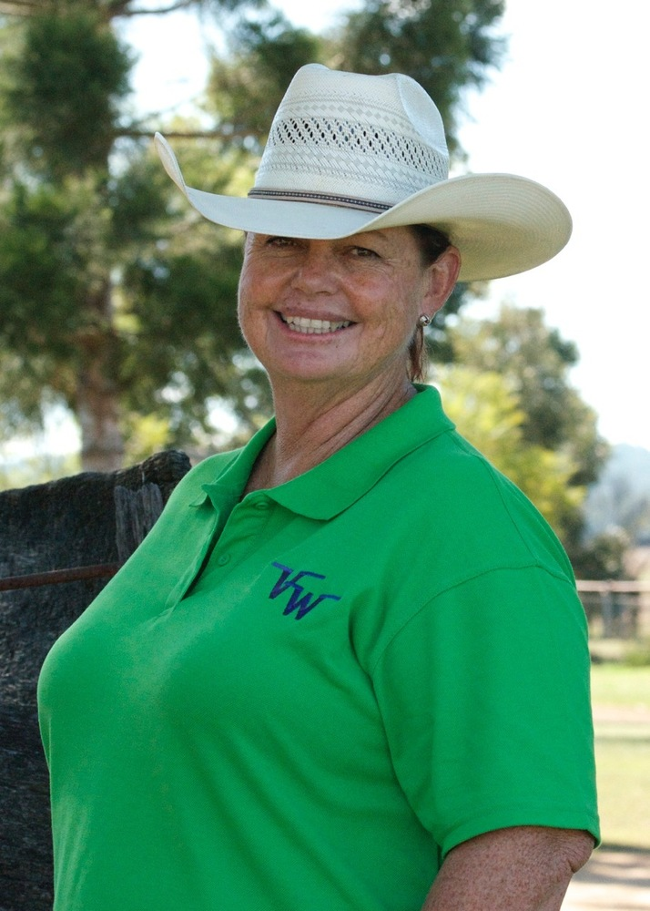 Vivian Wearing Polo