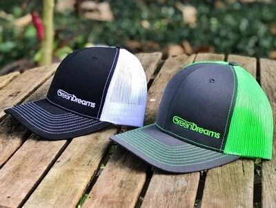Hat- Green and Gray