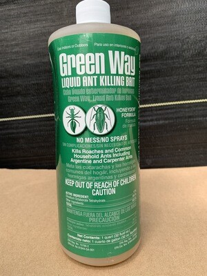 Green Way Liquid Ant Bait 32 oz