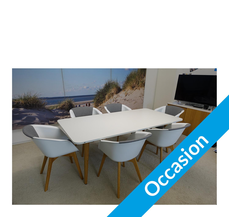 mastermind Konferenztisch mit 6 on spot Konferenzstühlen (Sedus)