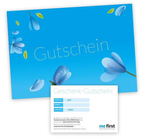 MeFirst Geschenk-Gutschein