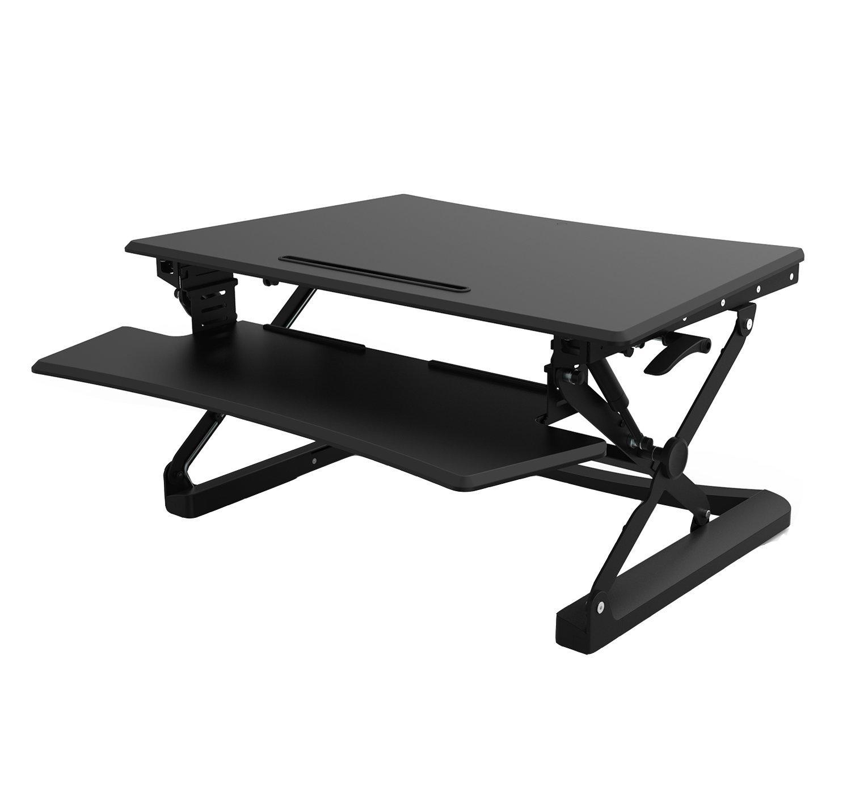 Sitz-Steh-Schreibtischaufsatz